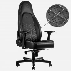 Ghế Game Noblechairs ICON Series - black/platinum white