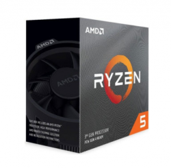 CPU AMD Ryzen 5 3600, with Wraith Stealth cooler/ 3.6 GHz (4.2GHz Max Boost) / 36MB Cache / 6 cores / 12 threads / 65W / Socket AM4