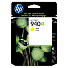 Mực in phun HP C4909AA - dùng cho HP 940XL Yellow Officejet Ink Cartridge. OJ Pro 8000series Printer, OJ pro 8500 printer)